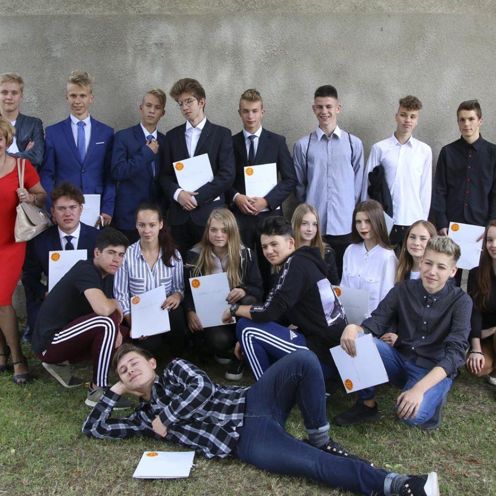 Zakończenie roku szkolnego trzecich klas Gimnazjum