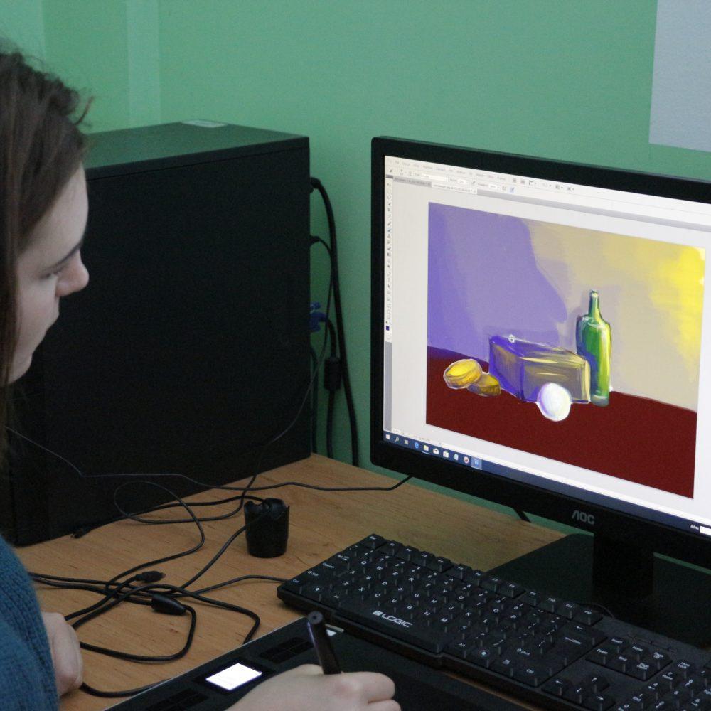 Warsztaty z digital artu z Tomaszem Jędruszkiem