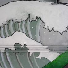 Nasz mural w przejściu podziemnym