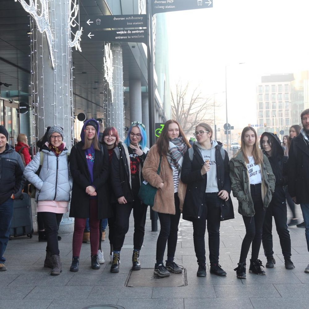 Wycieczka klasy 1 Fg do Wrocławia