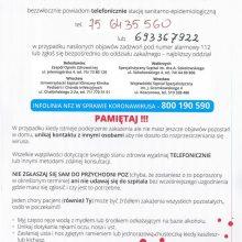 Informacja Głównego Inspektora Sanitarnego w związku z koronawirusem