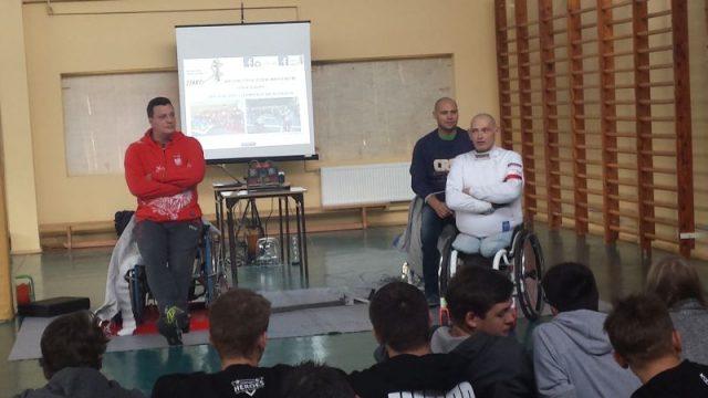 Spotkanie z paraolimpijczykami