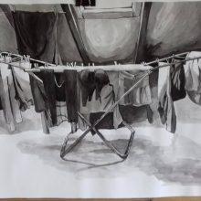 """""""Poprzęglądowa"""" wystawa wybranych prac uczniów z rysunku i malarstwa"""