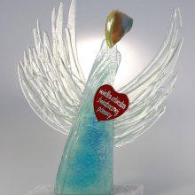 WOŚP 2021 – Szklany Anioł wykonany w LSP