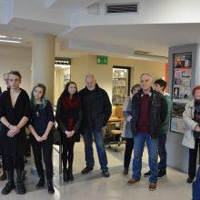 Uroczyste otwarcie wystawy prac uczniów naszego Liceum Plastycznego w Galerii Książnicy Karkonoskiej.