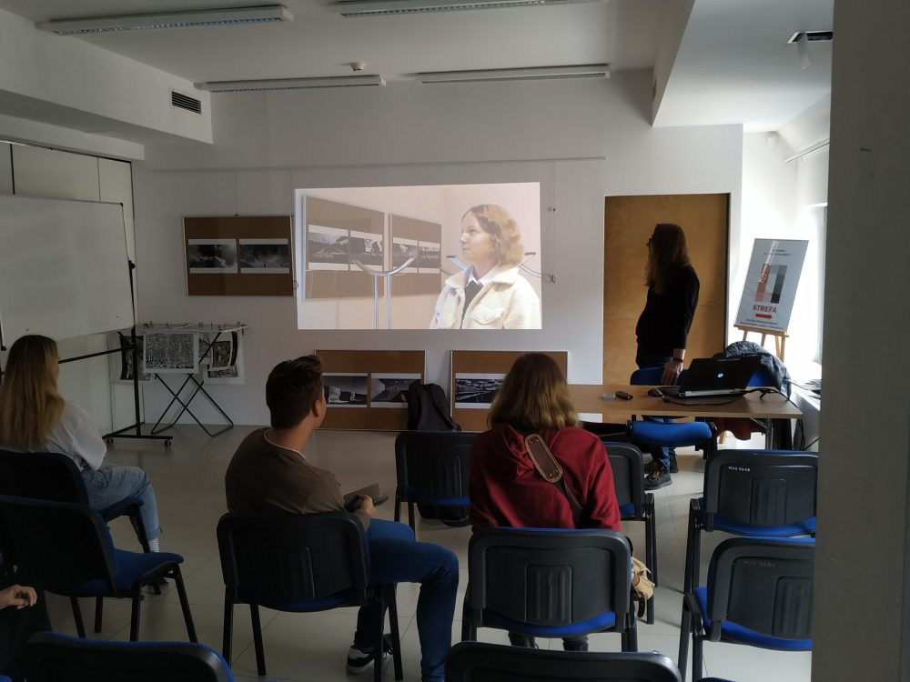 Nasi uczniowie na warsztatach filmowych