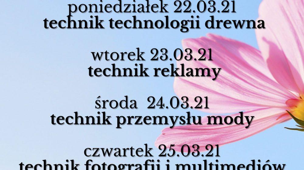Konsultacje online z nauczycielami zawodu!!!
